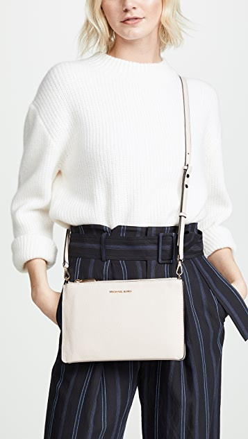 MICHAEL Michael Kors Большая сумка через плечо с двумя косметичками