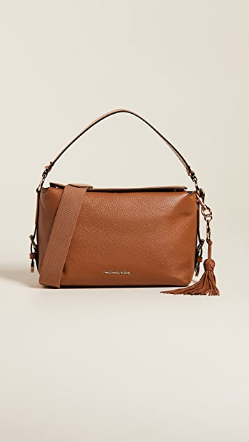 9d1629596b15 MICHAEL Michael Kors Brooke Medium Satchel | SHOPBOP
