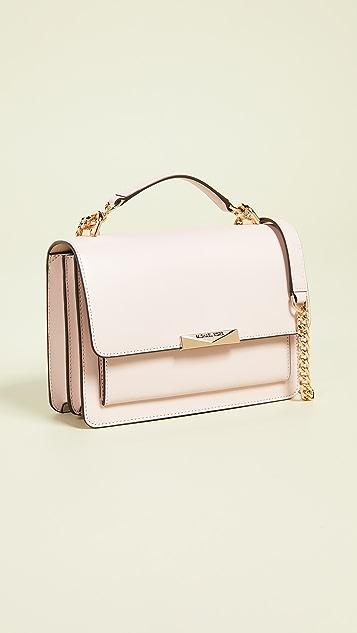 1e13fad26190 MICHAEL Michael Kors Jade Large Gusset Shoulder Bag | SHOPBOP