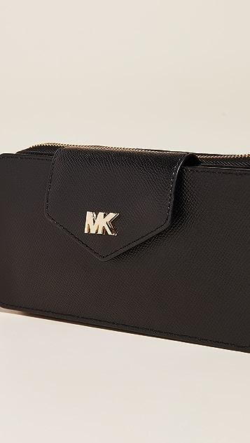 MICHAEL Michael Kors Маленькая сумка-трансформер на ремне для телефона