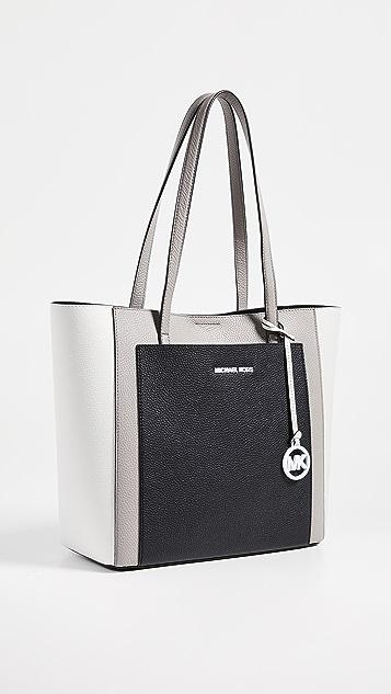 MICHAEL Michael Kors Объемная сумка с короткими ручками и большим карманом Gemma
