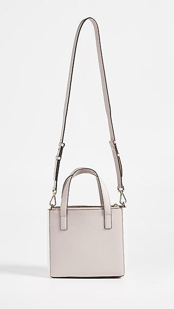MICHAEL Michael Kors Объемная сумка с короткими ручками Gemma с маленьким карманом