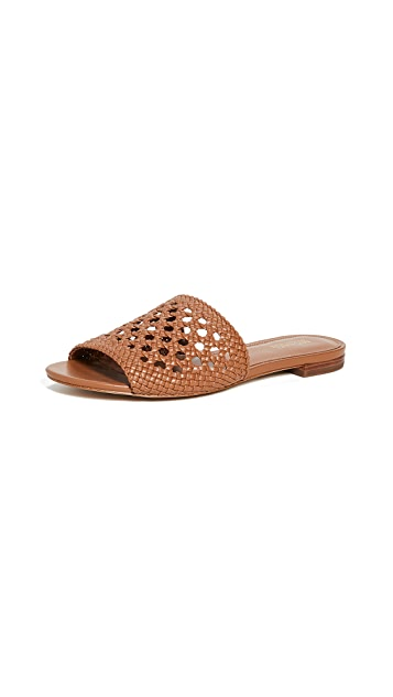 MICHAEL Michael Kors Плетеные сандалии без застежки Augustine