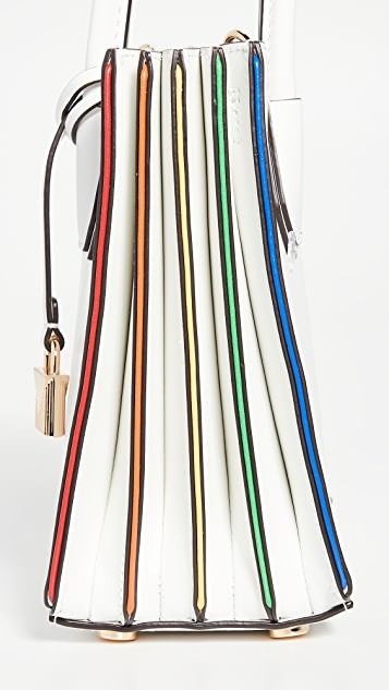 MICHAEL Michael Kors Объемная сумка-трансформер Mercer Acordion с короткими ручками среднего размера