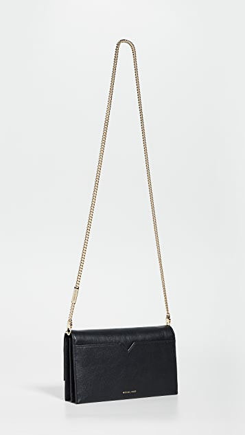 MICHAEL Michael Kors Cece Large Clutch Crossbody Bag