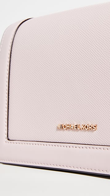 MICHAEL Michael Kors Большая сумка через плечо на цепочке Jet Set