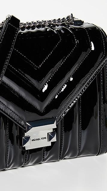MICHAEL Michael Kors Большая сумка на ремне Whitney
