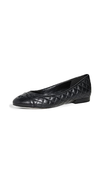 MICHAEL Michael Kors Dylan Quilted Ballet Flats