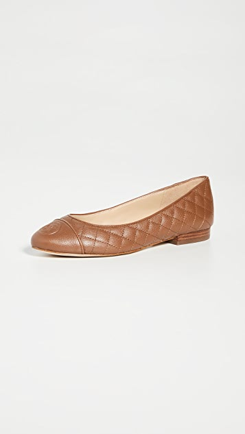 MICHAEL Michael Kors Dylyn Quilted Ballet Flats