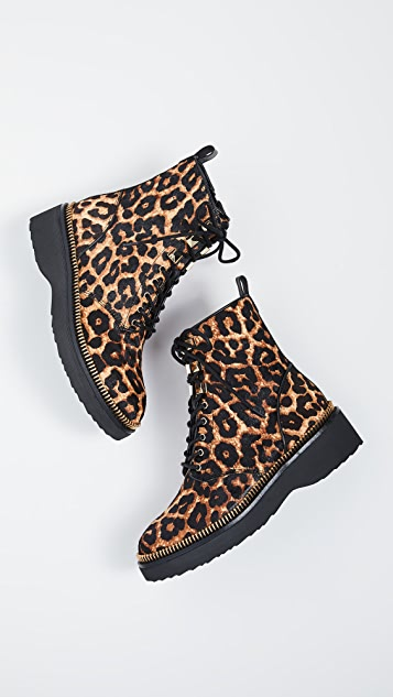 MICHAEL Michael Kors Haskell Combat Boots