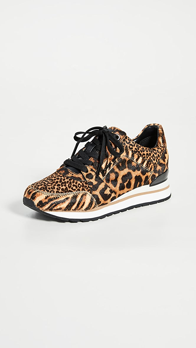 michael kors leopard print trainers