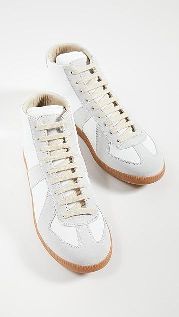 Maison Margiela Replica High Top Sneakers