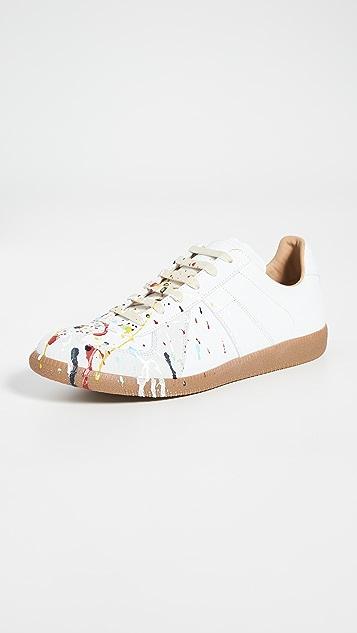 Maison Margiela Replica Painter Low Top Sneakers