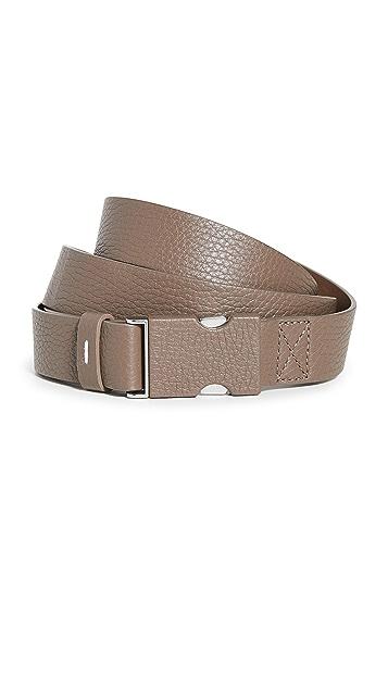 Maison Margiela Leather Buckle Belt