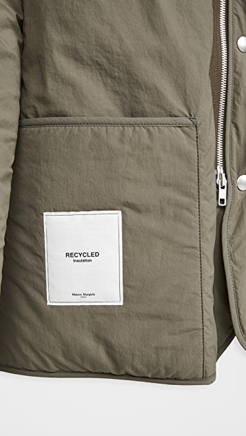 Maison Margiela Recycled Nylon Quilted Jacket