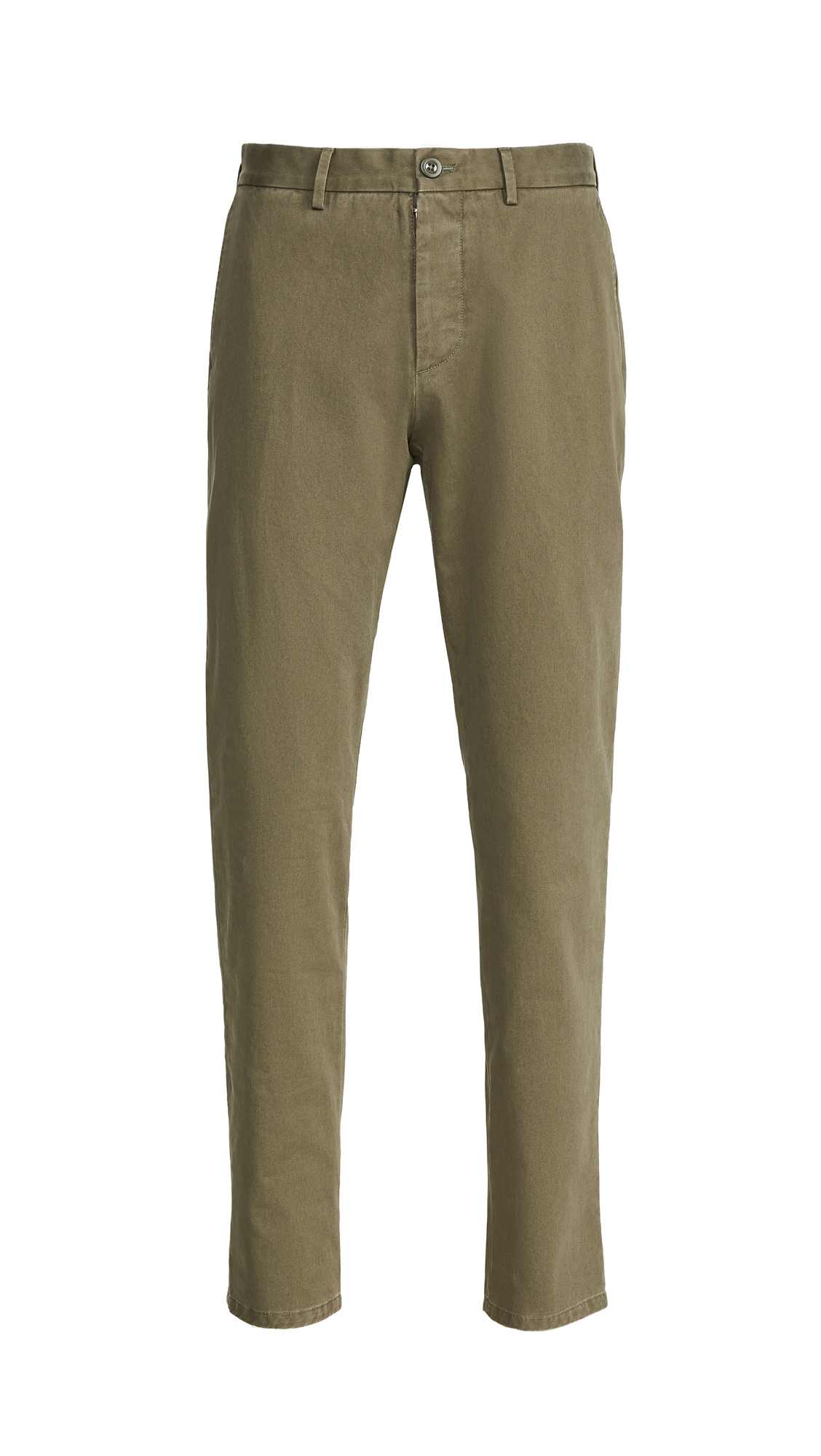 Garment Dyed Regular Fit Chino Pants