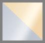 Silver Burattato/Yellow Gold