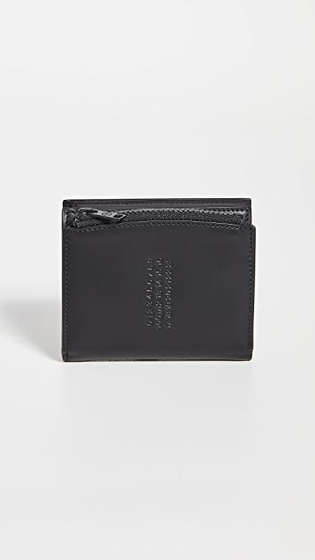 Maison Margiela Stitch Zip Wallet