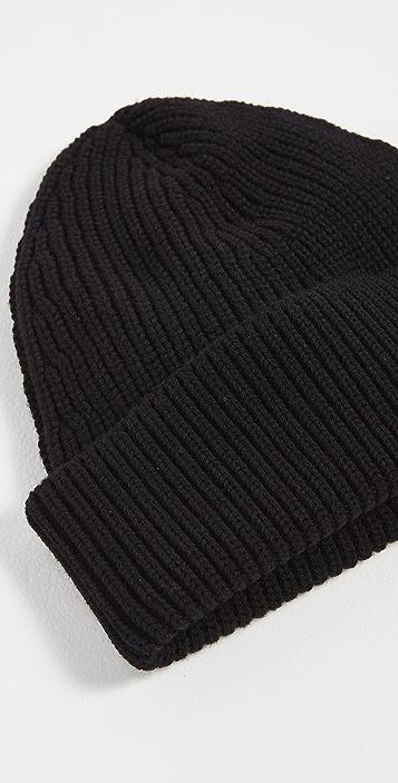 Maison Margiela Ribbed Knit Hat