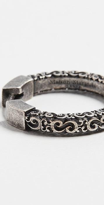 Maison Margiela Engraved Earring