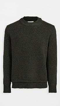 메종 마르지엘라 스웨터 Maison Margiela Pullover Sweater,Dark Green Melange