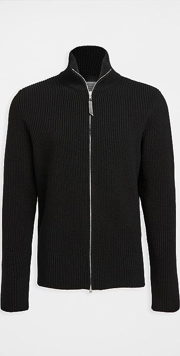 Maison Margiela Zip Up Sweater
