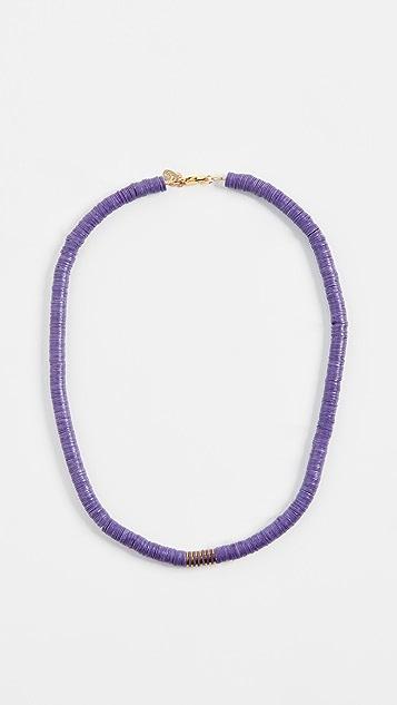 Maison Monik Фиолетовое колье-ошейник