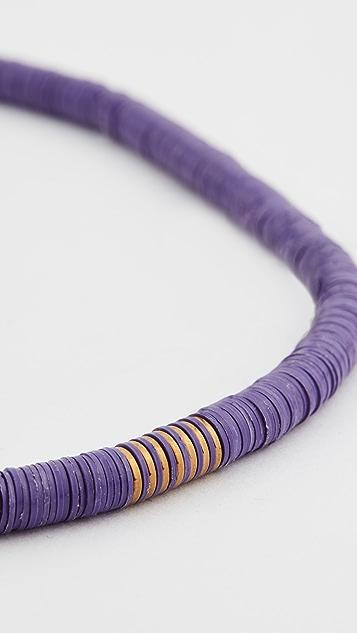 Maison Monik Purple Choker