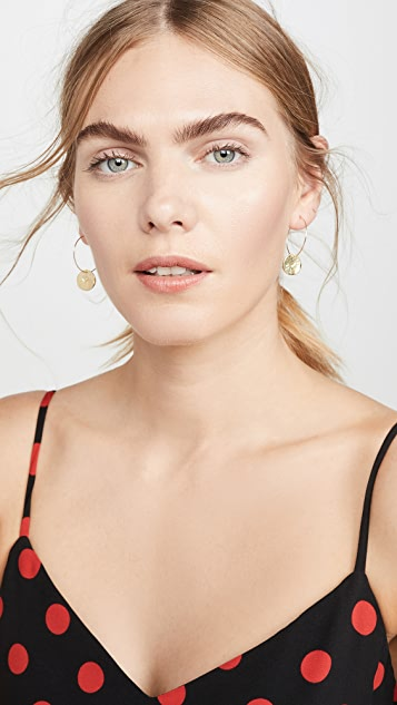 Maison Monik Hoop Earrings