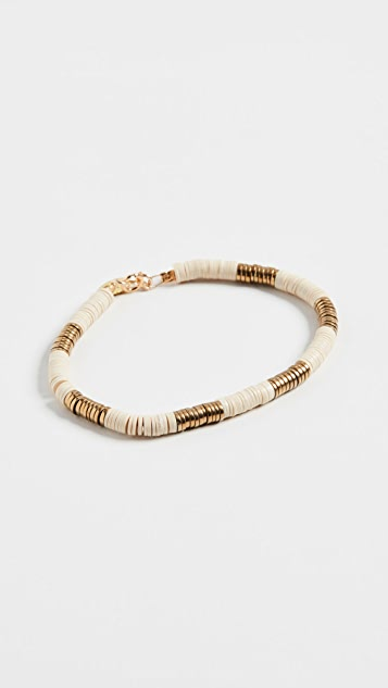 Maison Monik 象牙白和金色手链