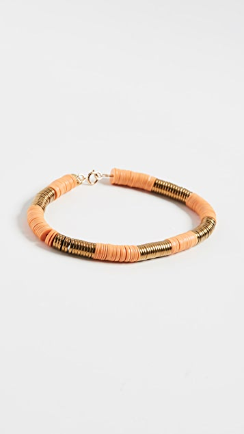 Maison Monik Orange & Gold Bracelet
