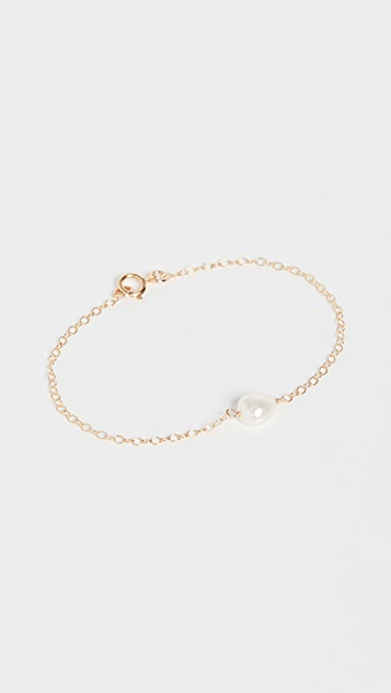 Maison Monik Single Freshwater Cultured Pearl Bracelet