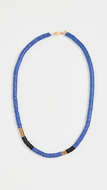 Maison Monik Indigo Necklace