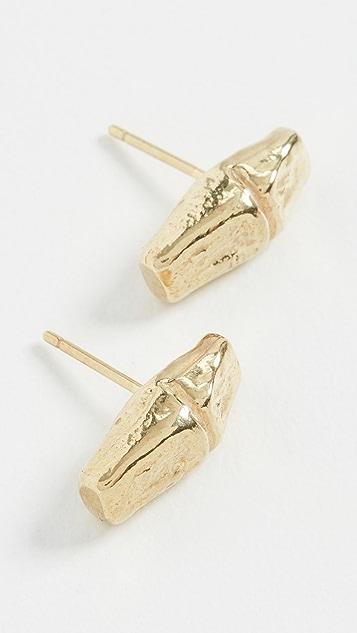 Maison Monik Boucle Bamboo Earrings