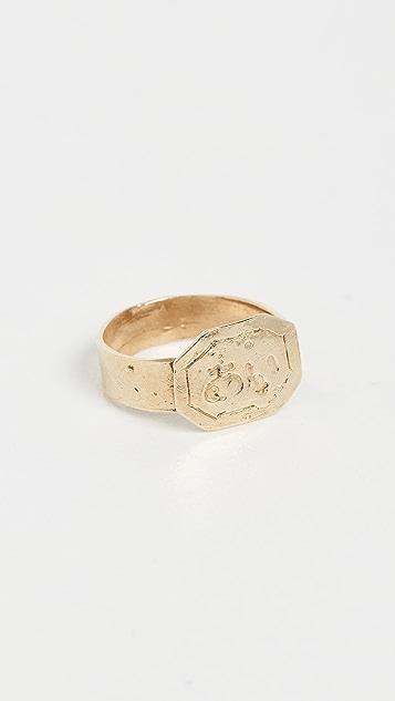 Maison Monik Aï 蚀刻戒指