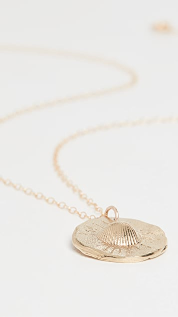 Maison Monik 贝壳项链