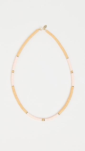 Maison Monik Vinyl Bead Necklace