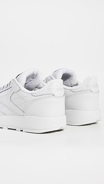 Maison Margiela x Reebok Project 0 Cl 经典皮 Tabi 运动鞋