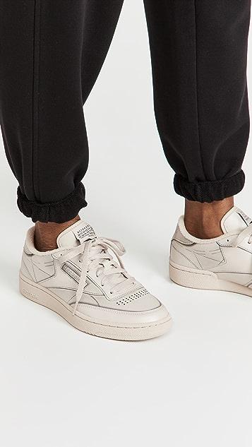 Maison Margiela x Reebok Club C Tromp Leoil Sneakers