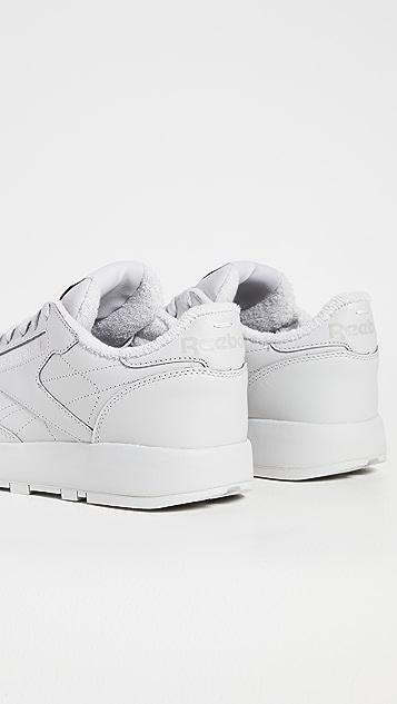 Maison Margiela x Reebok Project 0 Classic Leather Sneakers