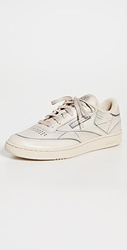 Maison Margiela x Reebok - Project 0 Club C Leather Sneakers