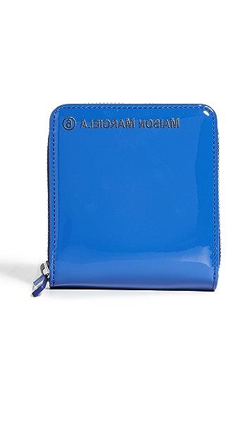 MM6 Maison Margiela Small Zip Wallet