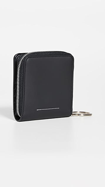 MM6 Maison Margiela Small Zip Wallet