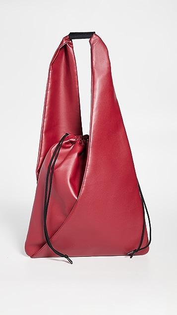 MM6 Maison Margiela Треугольная объемная сумка с короткими ручками Japanese