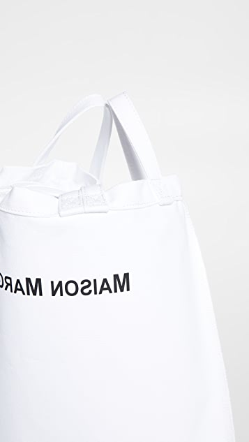 MM6 Maison Margiela Объемная сумка с короткими ручками