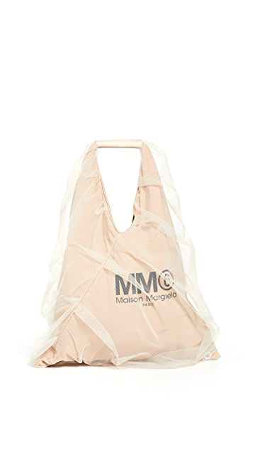 MM6 Maison Margiela Small Triangle Tote Bag