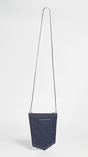 MM6 Maison Margiela Denim Pocket Crossbody Bag