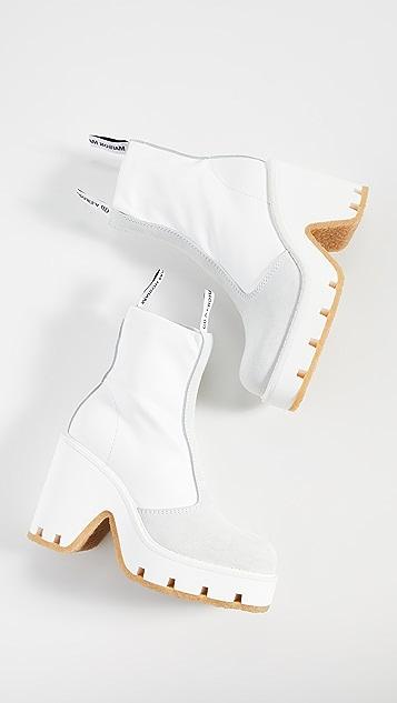 MM6 Maison Margiela 厚底短靴