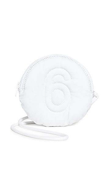 MM6 Maison Margiela Embroidered 6 Pouch
