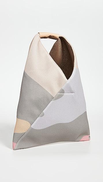 MM6 Maison Margiela 小号迷彩三角手提袋